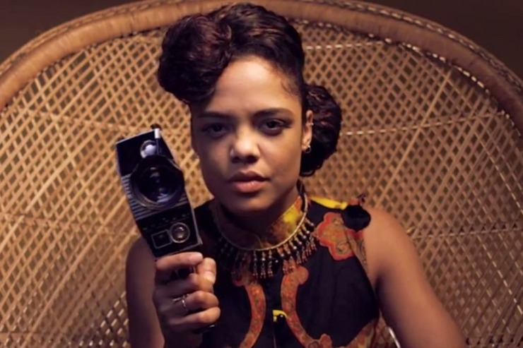 "Tessa Thompson, como ""Sam,"" la protagonista de Dear White People"