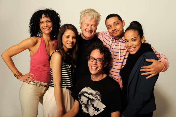 Macdara Vallely with cast of Babygirl