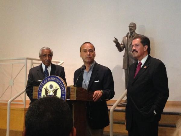 Charles Rangel, Luis Gutiérrez, José Serrano