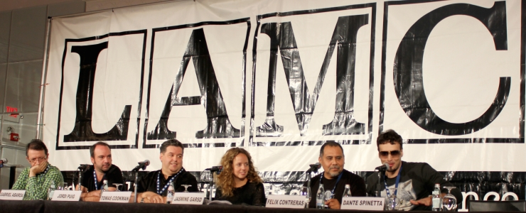 LAMC History Panel