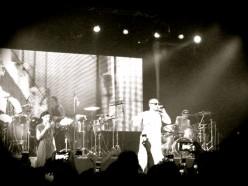 Calle 13 performing in New York last Saturday