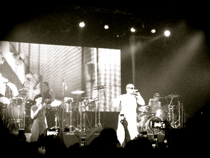 Calle 13 performing in New York last Saturday